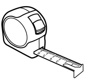 Tools tape measure coloring page measuring tape for Tools coloring page