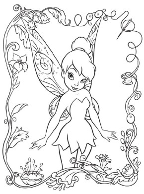 tinkerbell-fairy-coloring-page
