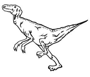 velociraptor-coloring-page