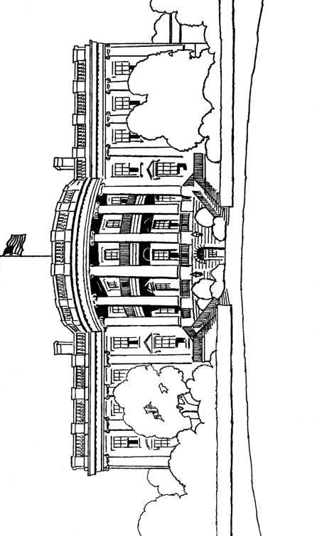 White House Coloringpage