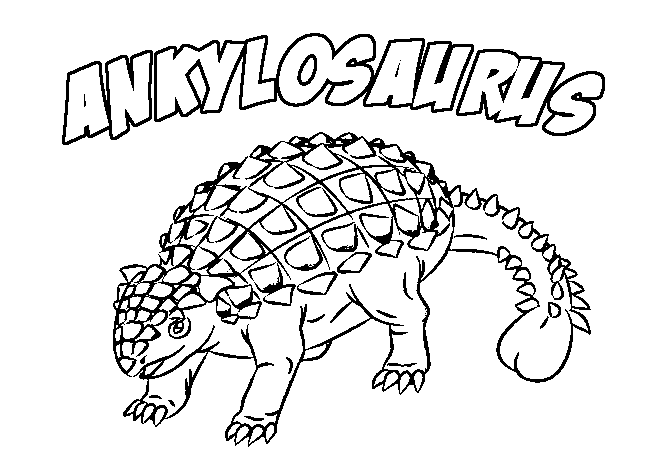 dinosaur facts and coloring pages - photo#34