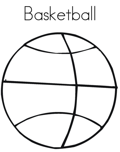 Basketball Coloring Page Coloring Page Book For Kids