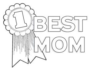 Mothers Day : Best Mom Coloring Page, Happy Mother's Day, Happy ...