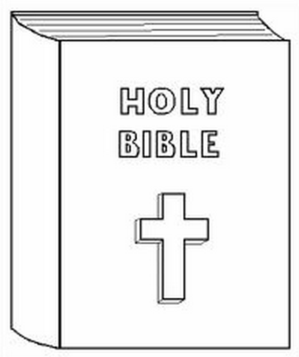 The Bible Coloring Page coloring page & book for kids.