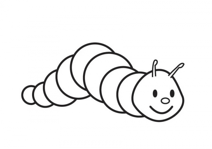 - Caterpillar Coloring Pages Coloring Page & Book For Kids.