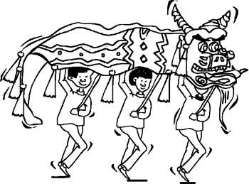 Chinese New Year Coloring Page Coloring Page Book For Kids