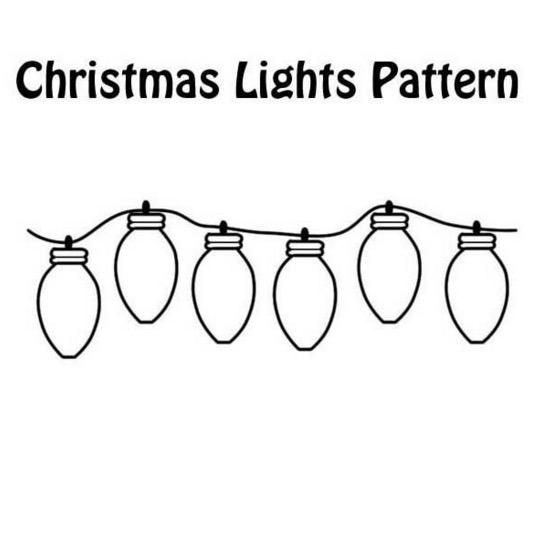christmas lights coloring pages Christmas Lights Coloring Page coloring page & book for kids. christmas lights coloring pages