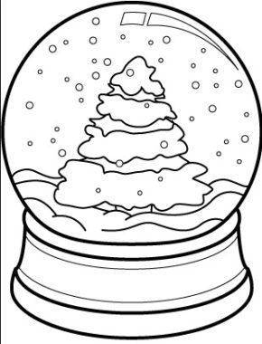 Christmas : Santa Christmas Tree Coloring Page ...