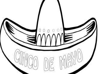 Cinco De Mayo coloring pages | Cinco de mayo crafts, Coloring pages | 245x326