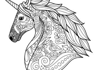 Home Coloring Page Book