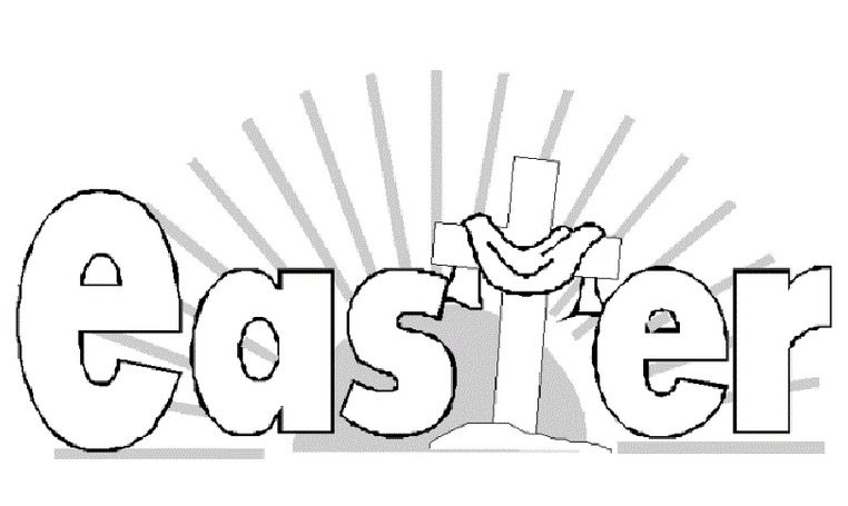 Easter He Is Risen Coloring Page Coloring Page Amp Book For