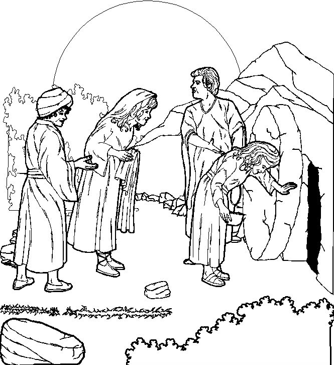 Easter Sunday Coloring Page Coloring Page Amp Book For Kids