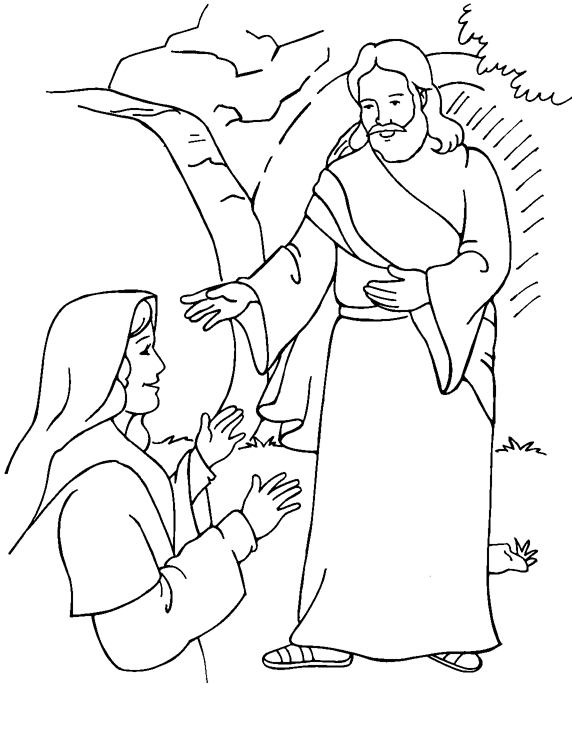 Easter Sunday Coloring Sheet Coloring Page Book For Kids