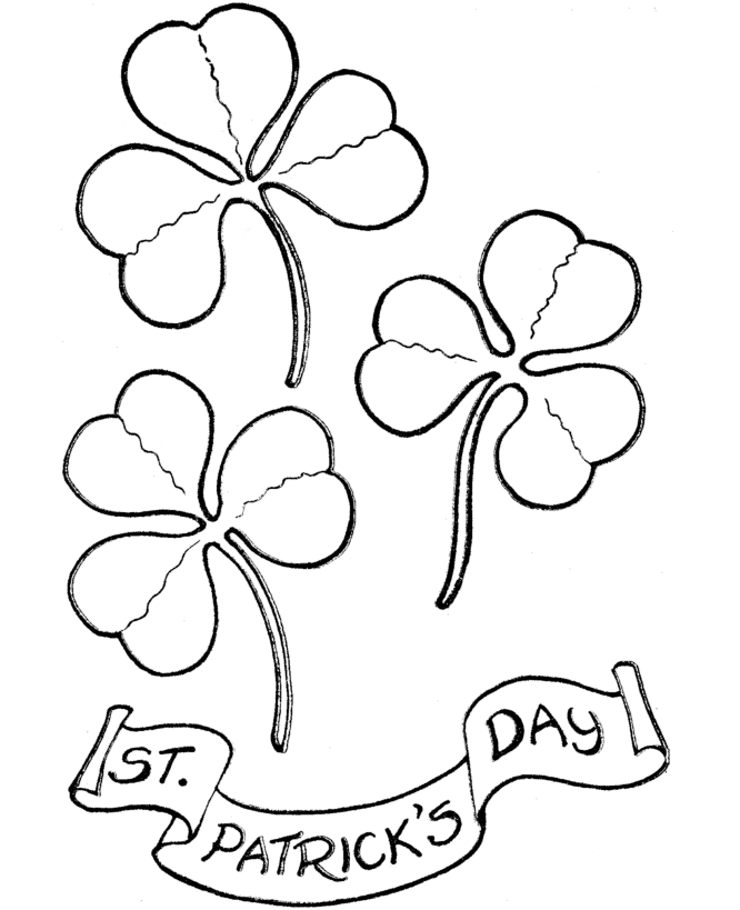 Free St Patrick S Day Coloring Page Coloring Page Book For Kids