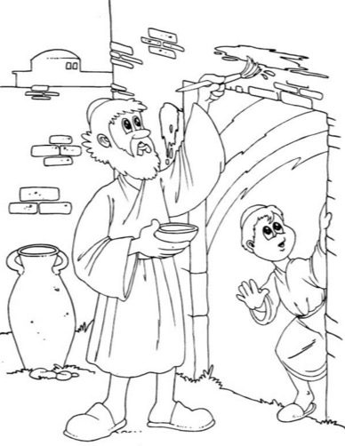 Passover Coloring Page coloring page & book for kids.