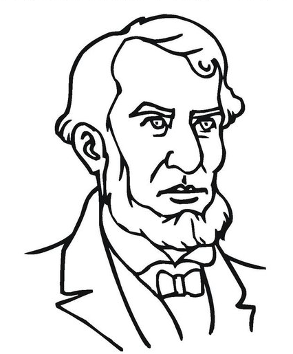 Presidents Day Lincoln Coloring Page & Coloring Book