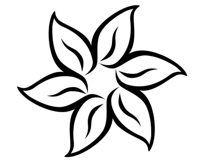 Summer Flower Coloring Page Coloring Page Book For Kids
