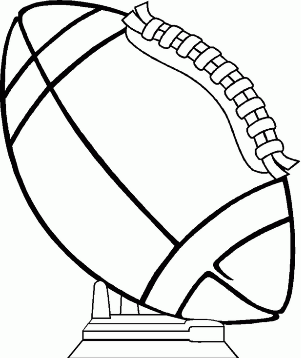 superbowl coloring pages for kids | Superbowl Coloring Page coloring page & book for kids.
