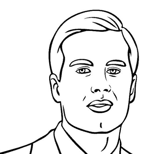 Tom Brady Coloring Page & Coloring Book