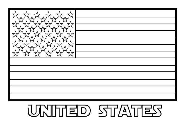 united states flag coloring pages United States Flag Coloring Page coloring page & book for kids. united states flag coloring pages