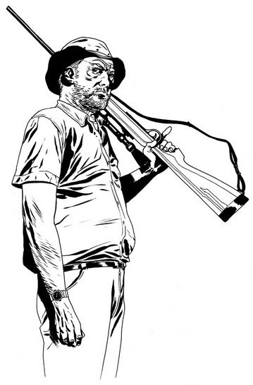 Walking Dead Coloring Page coloring