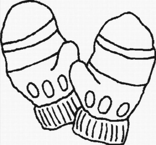 Winter Mittens Coloring Page Coloring Page Amp Book For Kids